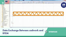 Webinar: Data Exchange Between cadwork and RFEM