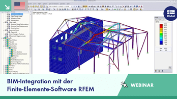 [EN] Dlubal-Webinar: BIM-Integration mit der FEM-Software RFEM