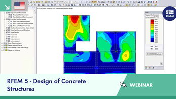 Webinar: RFEM 5 - Design of Concrete Structures