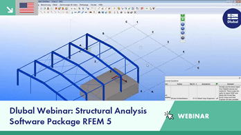 Webinar: Structural Analysis Software Package RFEM 5