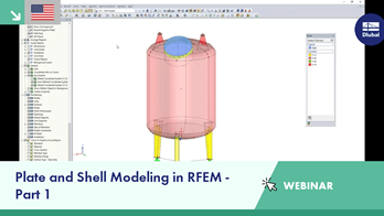 Plate and Shell Modeling in RFEM - Part 1