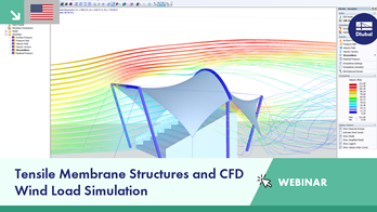 Webinar | Tensile Membrane Structures and CFD Wind Load Simulation