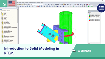 Webinar | Introduction to Solid Modeling in RFEM