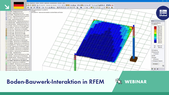 Boden-Bauwerk-Interaktion in RFEM