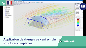 Webinaire | Application de charges de vent sur des structures complexes
