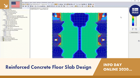 Reinforced Concrete Floor Slab Design | RFEM | Info Day Online | 15.12.2020 | 2/4