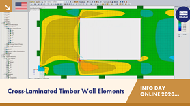 Cross-Laminated Timber Wall Elements | RFEM | Info Day Online | 15.12.2020 | 3/4
