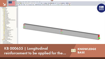 KB 000655 | Longitudinal reinforcement to be applied for the shear force design according to EN 1...