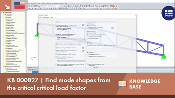 KB 000827 | Find mode shapes from the critical critical load factor