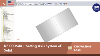 KB 000640 | Setting Axis System of Solid