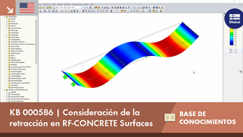 [EN] KB 000586 | Consideración de la retracción en RF-CONCRETE Surfaces