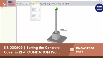 KB 000605 | Setting the Concrete Cover in RF-/FOUNDATION Pro According to EN 1992-1-1
