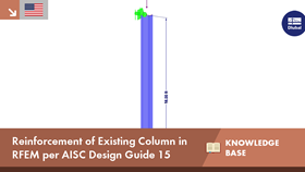 Reinforcement of Existing Column in RFEM per AISC Design Guide 15