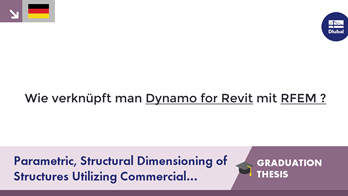 [DE] Parametric, Structural Dimensioning of Structures Utilizing Commercial Software