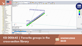 KB 000645 | Favorite groups in the cross-section library