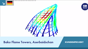 CP 000682 | Baku Flame Towers, Aserbaidschan