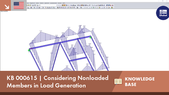 KB 000615 | Considering Nonloaded Members in Load Generation