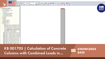 KB 001705 | Calculation of Concrete Columns with Combined Loads in RF-CONCRETE Columns