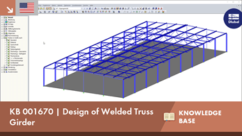 KB 001670 | Design of Welded Truss Girder