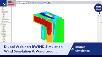 Dlubal Webinar: RWIND Simulation - Wind Simulation & Wind Load Generation