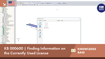 KB 000600 | Finding Information on the Currently Used License