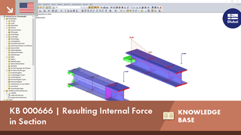 KB 000666 | Resulting Internal Force in Section