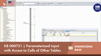 KB 000721 | Parameterized Input with Access to Cells of Other Tables