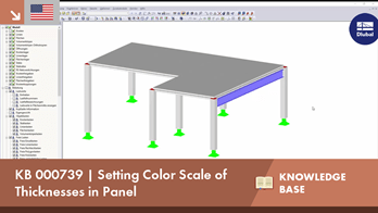 KB 000739 | Setting Color Scale of Thicknesses in Panel