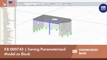 KB 000743 | Saving Parameterized Model as Block