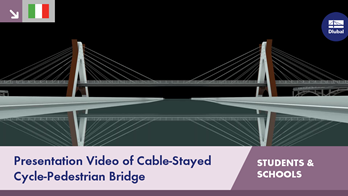 [IT] Presentation Video of Cable-Stayed Cycle-Pedestrian Bridge