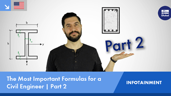 The most important formulas of a civil engineer Part 2