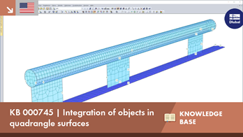 KB 000745 | Integration of objects in quadrangle surfaces