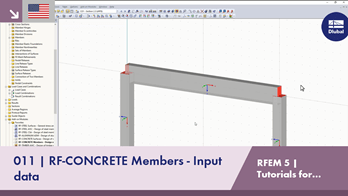 RFEM 5 Tutorial for Students | 011 RF-CONCRETE Members - Input data