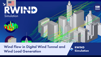 RWIND Simulation | Wind Flow in Digital Wind Tunnel and Wind Load Generation