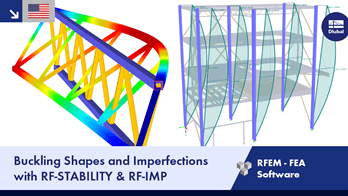 Buckling Shapes and Imperfections with RF-STABILITY & RF-IMP | Dlubal Software