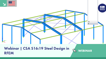 Webinar | CSA S16:19 Steel Design in RFEM