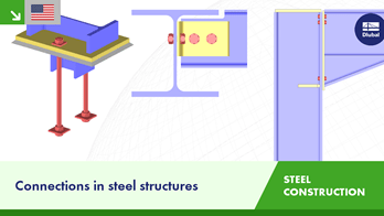 Connections in steel structures | Dlubal Software