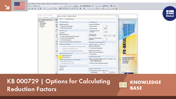 KB 000729 | Options for Calculating Reduction Factors