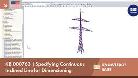 KB 000763 | Specifying Continuous Inclined Line for Dimensioning