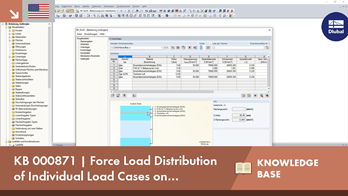 KB 000871 | Force Load Distribution of Individual Load Cases on Different Insulating Glass Layers