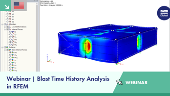 Webinar | Blast Time History Analysis in RFEM