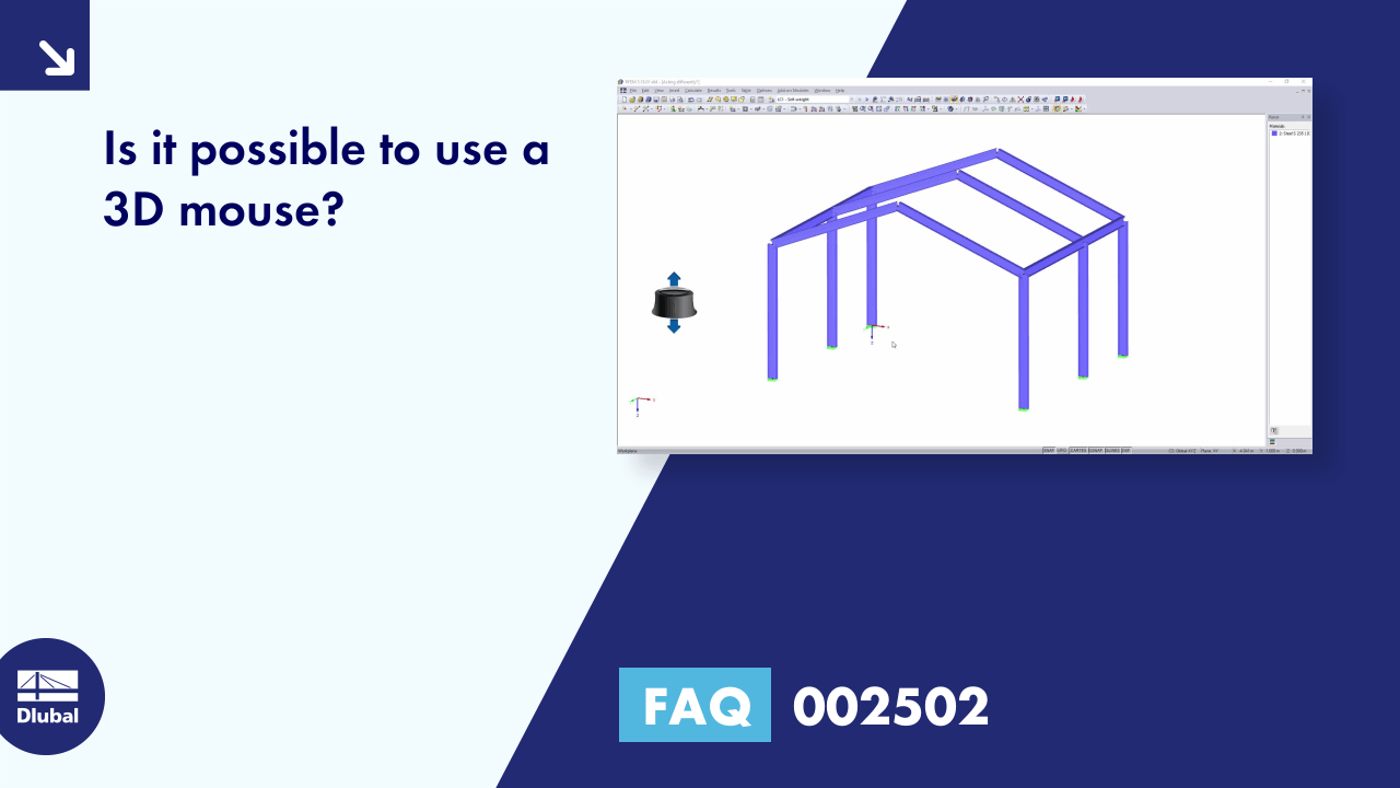 FAQ 002502 | Is it possible to use a 3D mouse?