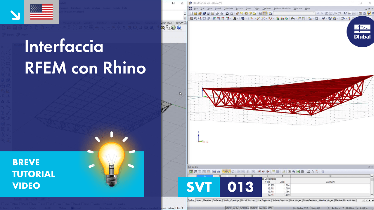 [EN] SVT 013 | Interfaccia RFEM con Rhino