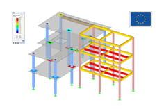 nichtlineare berechnung mit rf beton dlubal software. Black Bedroom Furniture Sets. Home Design Ideas