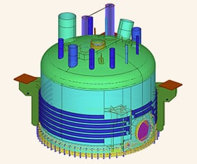 Designed with Structural Analysis Program RFEM - Industrial Filter Device