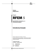 Exemple d'introduction RFEM