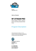 Manual do RF-DYNAM Pro