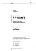 Manuale RF-GLASS