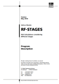 Manual do RF-STAGES