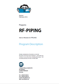 Manual de RF-PIPING / RF-PIPING Design